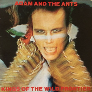 Adam And The Ants -‎ Kings Of The Wild Frontier (LP) (VG+/G)